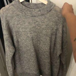 H&M Mohair Crew Neck Sweater